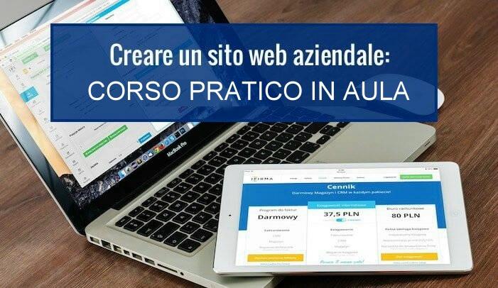 Corso Web Design