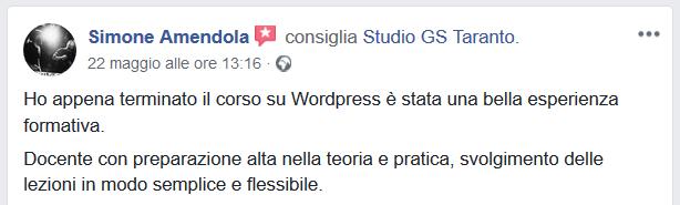 Corso web design Taranto
